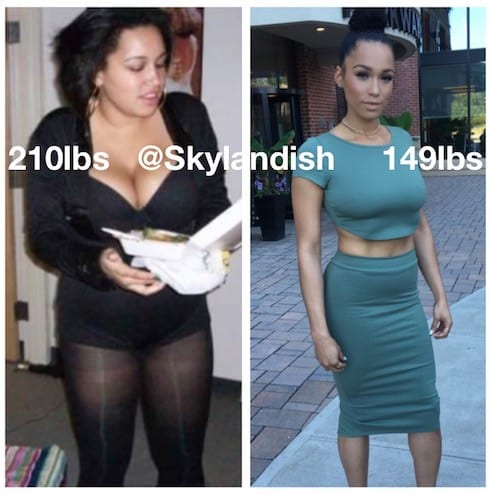 Sky Landish Love & Hip Hop before and after photos 14
