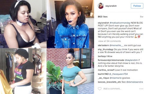Sky Landish Love & Hip Hop before and after photos 7