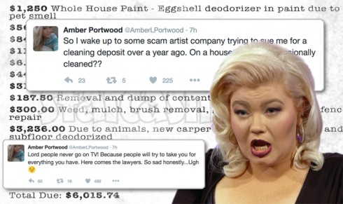 Amber Portwood sued by landlord