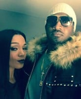 Kirk Frost new baby mama 1