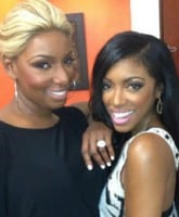 NeNe Leakes and Porsha Williams together