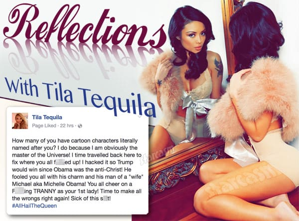 Reflections With Tila Tequila Michelle Obama quote
