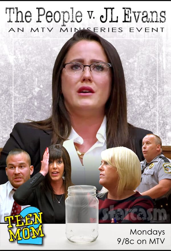 The People V Jenelle Evans miniseries poster