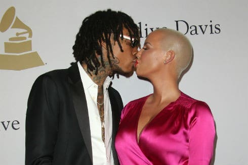 Amber Rose spotted making out with Wiz Khalifa day after Val Chmerkovskiy breakup is made public