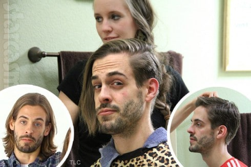 Derick Dillard haircut