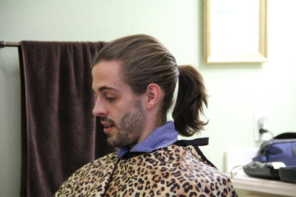 Derick Dillard ponytail