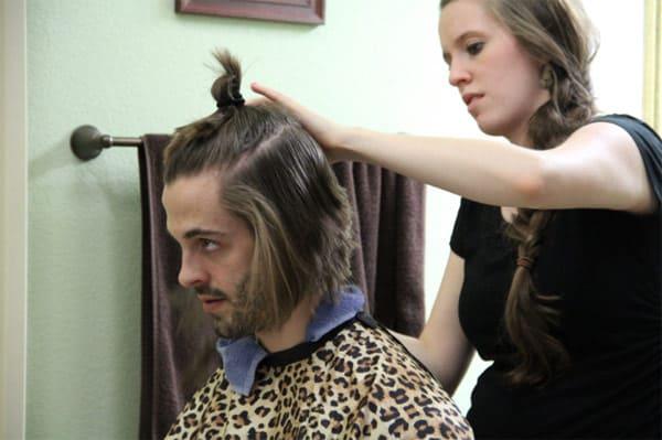 Derick Dillard long hair cut