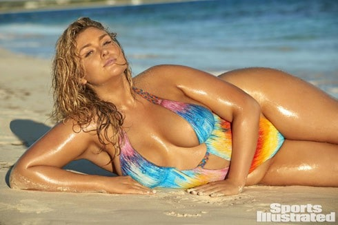 Hunter McGrady talks body size for SI swimsuit shoot