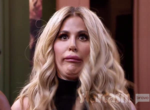 Kim Zolciak funny face