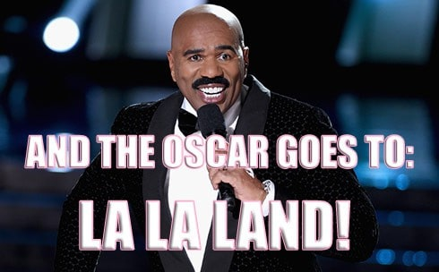 LaLaLand 490x304 steve harvey gives la la land oscar meme,Steve Harvey Meme Oscars