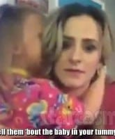 Leah Messer Addie pregnacy video