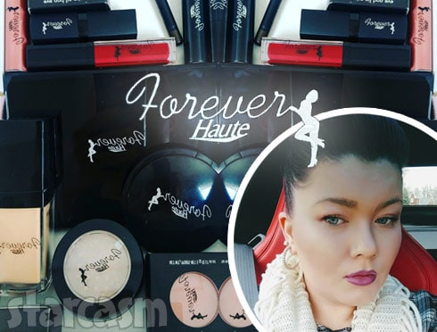 Amber Portwood makeup Forever Haute