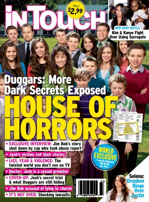 InTouch Josh Duggar scandal cover