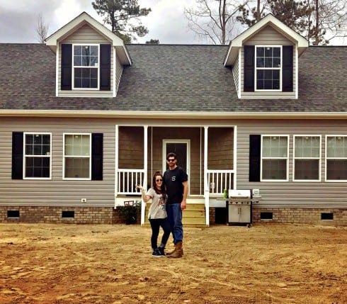 Jenelle Evans new house