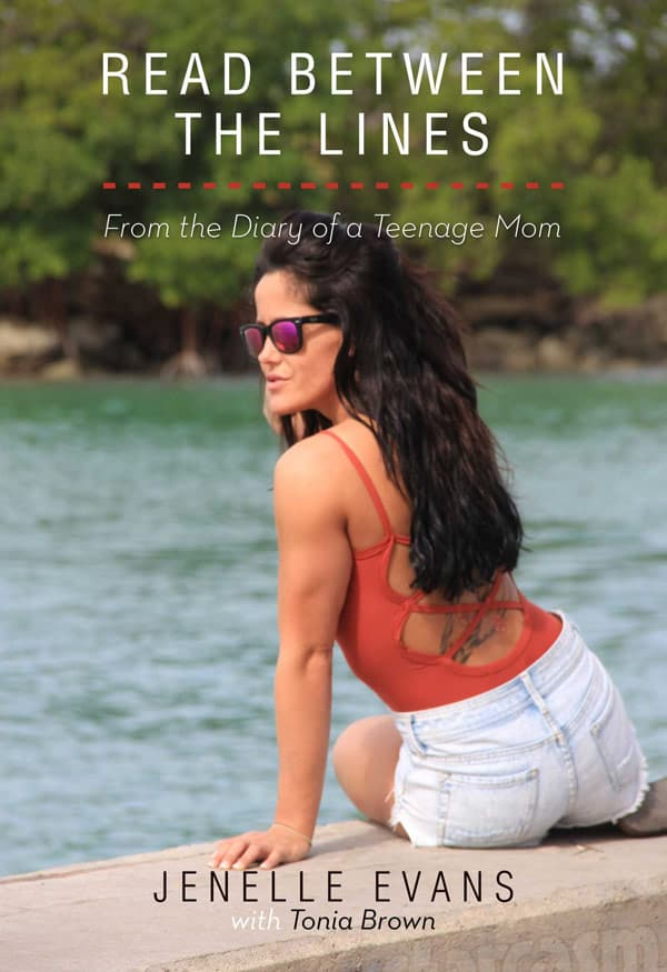 Teen Mom 2 Jenelle Evans book cover photo