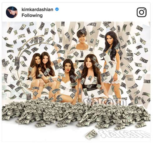 Kardashians Instagram revenue