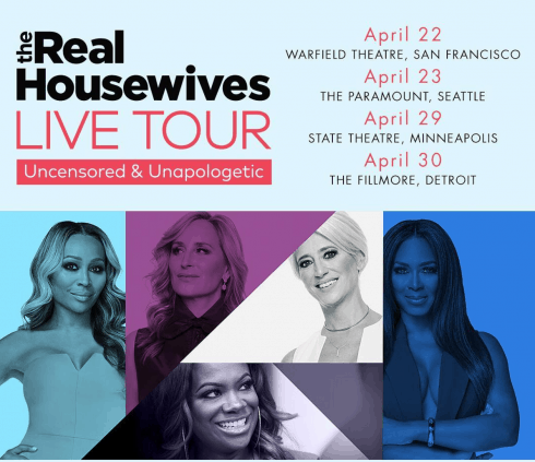 Real Housewives Live Tour
