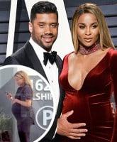 Russell Wilson pregnant Ciara crash_tn