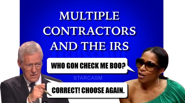 Sheree Whitfield Jeopardy Who Gon Check Me Boo IRS