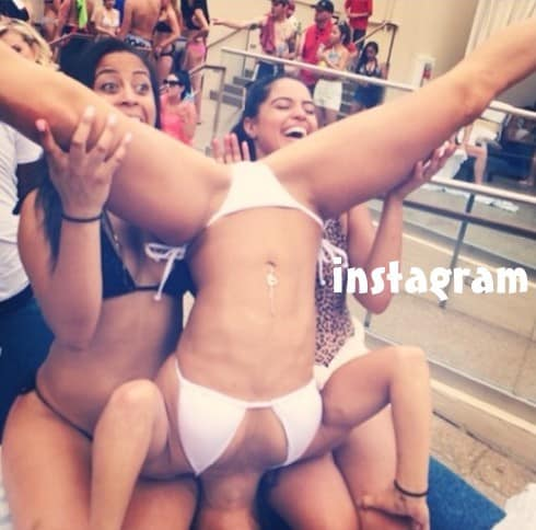Basketball Wives Melissa Metoyer bikini photos 5