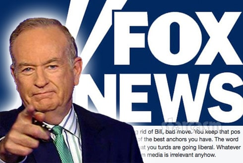 Bill O'Reilly Out at Fox News After Sex Harassment Allegations