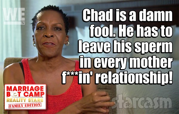 Chad Ochocinco Johnson mom Paula Johnson