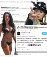 Jenelle Evans Debra Danielsen Twitter feud