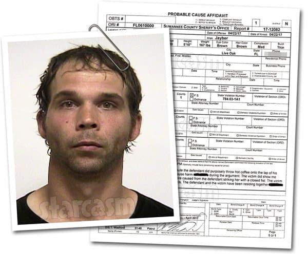 Jeremiah Raber arrest report and mug shot
