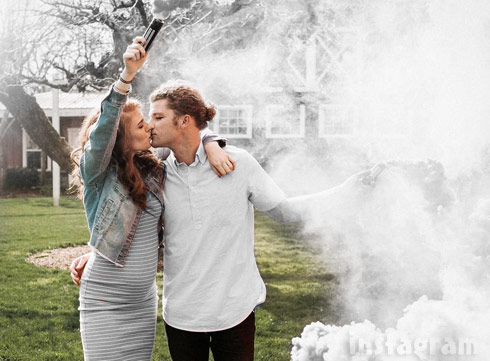 Photos audrey and jeremy roloff baby gender reveal family for What does audrey roloff do for a living