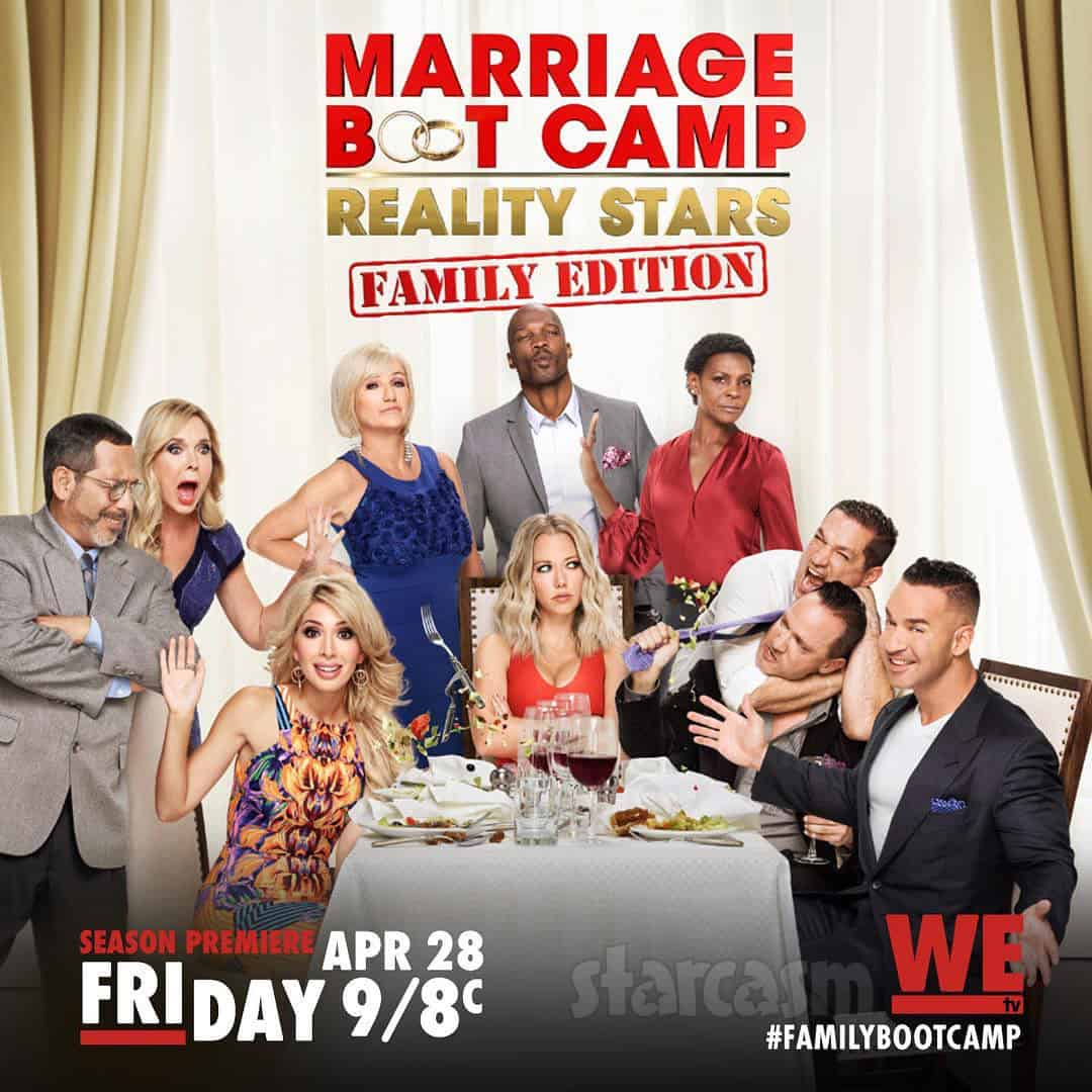 Marriage Boot Camp Reality Stars Family Edition