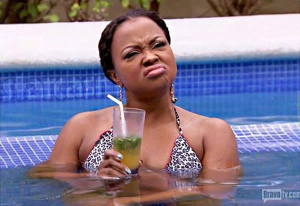 Phaedra Parks funny face
