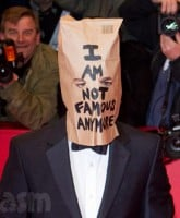 Shia LaBeouf paper bag not_famous