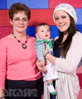 Barbara Evans Jenelle Evans and Jace
