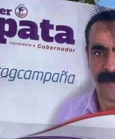 Javier Zapata campaign poster hashtagcampana