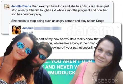 Jenelle Evans and Jessica Eason feud part 2