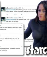 Jenelle Evans and Jessica Eason feud