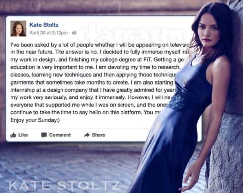 Kate Stoltz explains why she left Return to Amish
