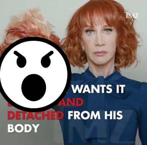 Kathy Griffin Donald Trump Picture EDITED
