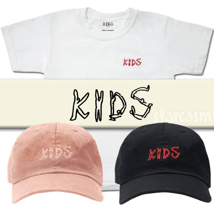 d4491b3fb Kim Kardashian and Kanye West launch The Kids Supply children s ...