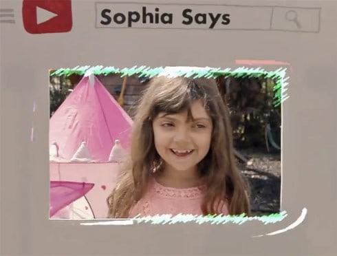 SophiaSaysYouTube