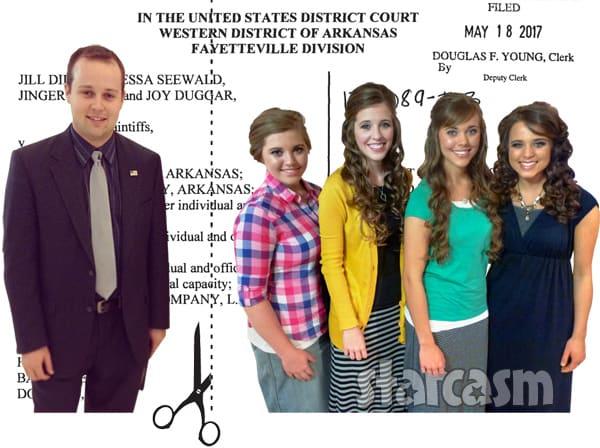 Josh Duggar lawsuit sisters
