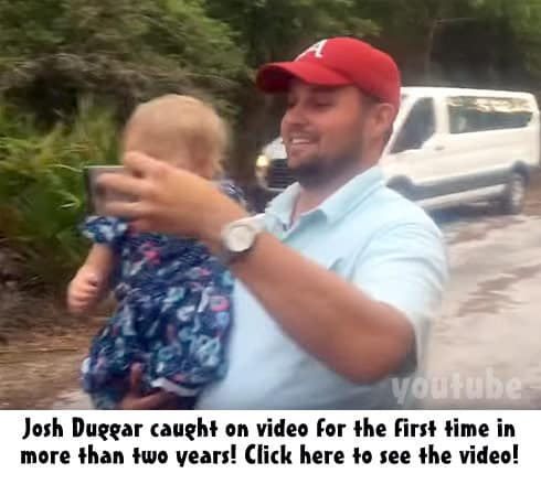 Josh Duggar caught on video! Click to watch the clip!