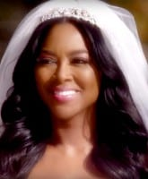 Kenya Moore wedding photo