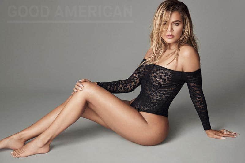 Khloe Kardashian bodysuit Good American