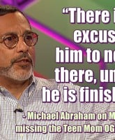 Michael Abraham Matt Baier Reunion quote