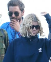 Sofia Richie and Scott Disick leave Nobu Restaurant in Malibu