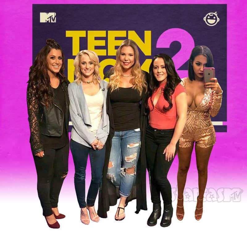 Teen Mom 2 cast with Briana DeJesus
