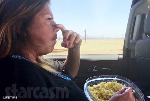 Abby Lee Miller prison surrender macaroni and cheese