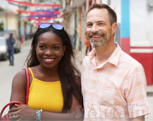 Before the 90 Days Sean and Abby from Haiti together