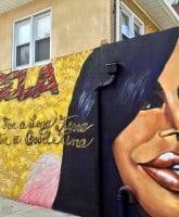 Big Ang mural New York
